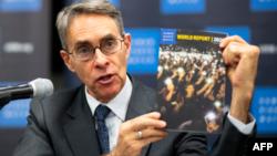 Kenneth Roth, director ejecutivo HRW durante presentación del Informe 2019