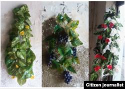 Reporta Cuba. Piezas de artesanía de Yaine Carralero Quevedo.