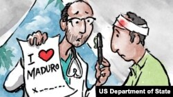 Médicos cubanos en Venezuela. (ShareAmerica.gov)