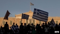 Referendo en Grecia en julio pasado.
