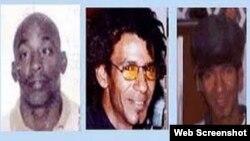Lorenzo Enrique Copello Castillo, Bárbaro Leodán Sevilla García y Jorge Luis Martínez Isaac, los tres jóvenes fusilados el 11 de abril del 2003 por el secuestro de una lancha.