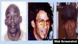 Lorenzo Enrique Copello, Bárbaro Leodán Sevilla García y Jorge Luis Martínez Isaac, fusilados por el régimen cubano.