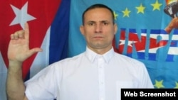 José Daniel Ferrer García, coordinador nacional de la Unión Patriótica de Cuba y exprisionero de conciencia del Grupo de los 75.