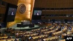 La Asamblea General de Naciones Unidas.