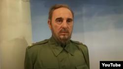 La figura de cera de Fidel Castro en el museo Madame Tussauds de New York.