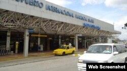 Aeropuerto Internacional Mariscal Sucre, en Quito, Ecuador.