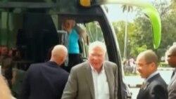 Regresó la delegación del Congreso de Estados Unidos que viajó a Cuba