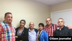 Reporta Cuba. Sindicalistas cubanos.