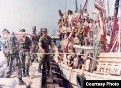 Unos 125,000 cubanos llegaron a Estados Unidos desde el puerto del Mariel entre abril y octubre de 1980 (Foto: Archivo).