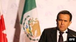 El ministro mexicano de Economía, Ildefonso Guajardo.