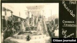 Parrandas en Vueltas en la década del treinta del siglo pasado