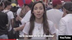 """""""¿Realmente sabes por qué protestamos?"""". El video explica en las redes las razones de la protesta en Venezuela, acalladas por el gobierno."""