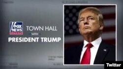 Presidente de Estados Unidos Donald Trump