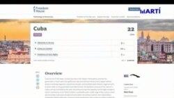 Informe de Freedom House sobre la libertad en la red en Cuba