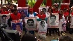 Manifestación al cumplirse dos años de la desaparición de los estudiantes de Igualada