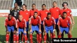 Futbolistas cubanos.