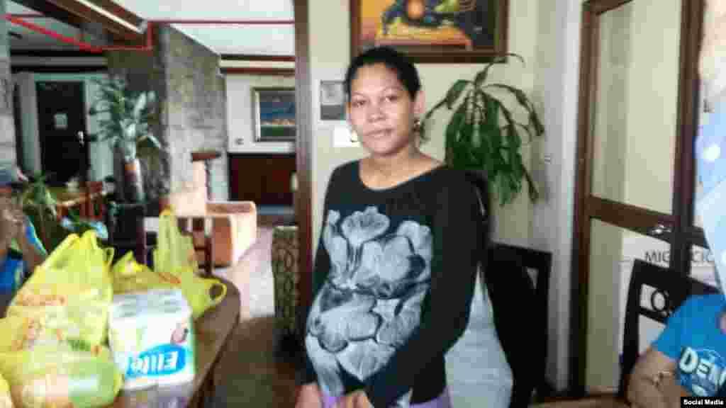 La cubana embarazada detenida en el Hotel Carrión fue ya devuelta a Cuba por su propia voluntad.