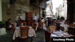 Restaurante El Patio, en la Habana Vieja.