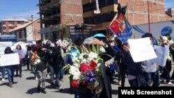 Familiares de Abigail González Duran reclaman justicia.