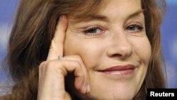 Isabelle Huppert es una invitada de lujo.