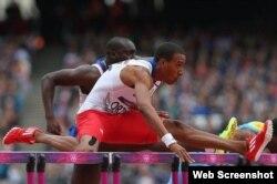 Orlando Ortega. Foto de IAAF.