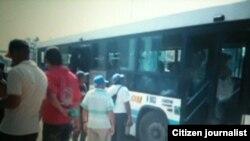 Reporta Cuba. Por los presos políticos. Foto: Berta Soler.