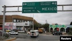 El puente internacional McAllen-Hidalgo en Reynosa, México. REUTERS/Tomas Bravo