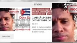 Info Martí   Lanzan campaña por la libertad de Denis Solís   Balseros son repatriados