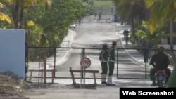 Cárcel en Cuba .