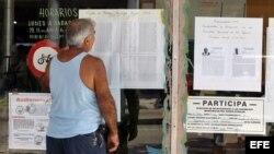 La población sólo tiene derecho a nominar a los delegados de circunscripción del Poder Popular municipal.