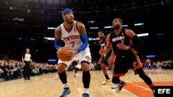 Kicks de New York vs Heat de Miami