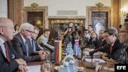 Ministro de Exteriores alemán visita Cuba