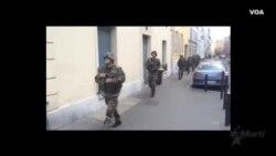Tropas francesas llegan a St. Denis