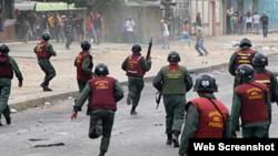 Violencia GNB Venezuela