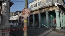 Las calles de La Habana acordonadas por el porcentaje tan alto de casos de Covid