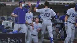 Los Dodgers de los Ángeles aseguran su boleto para la pós-temporada