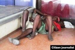 Sin vivienda: indigentes en Cuba.
