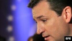Ted Cruz en campaña electoral