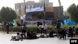 Iran military prade terror attack