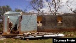 Baracoa tras el huracán Matthew. Foto Iván García.