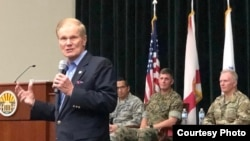Bill Nelson, senador demócrata de Florida.