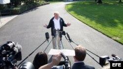 """Trump eleva sus ataques contra Sessions: """"No tengo Fiscal General"""""""