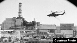 Planta nuclear de Chernóbil.