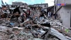Reacciones de damnificados por tornado en Cuba
