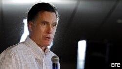 El virtual candidato republicano a la presidencia de Estados Unidos, Mitt Romney.