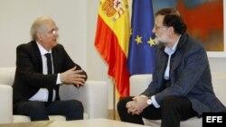 Rajoy recibe a Antonio Ledezma