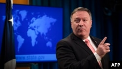 Mike Pompeo, secretario de Estado