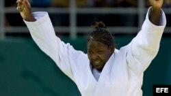 La judoca cubana Idalys Ortiz.
