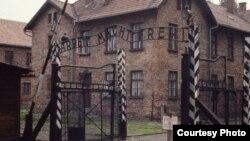 Entrada del campo de concentración de Auschwitz, en Polonia.