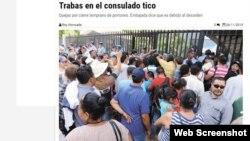 Consulado tico en Managua